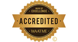 WAATME Accredited Seal